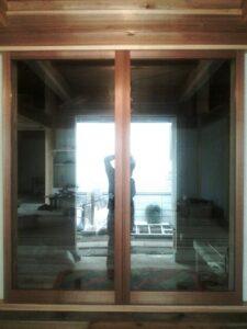 2017年 国立市 T邸 新築建具工事 ガラス戸